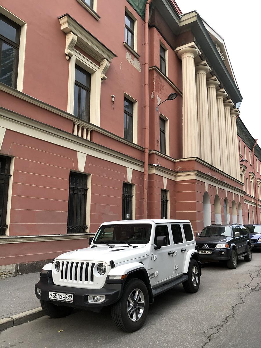 Jeep Wrangler Sahara Unlimited JL 2021 в Санкт-Петербурге