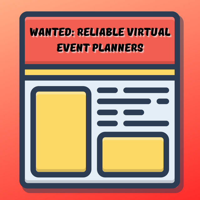 WANTED-Reliable-Virtual-Event-Planners