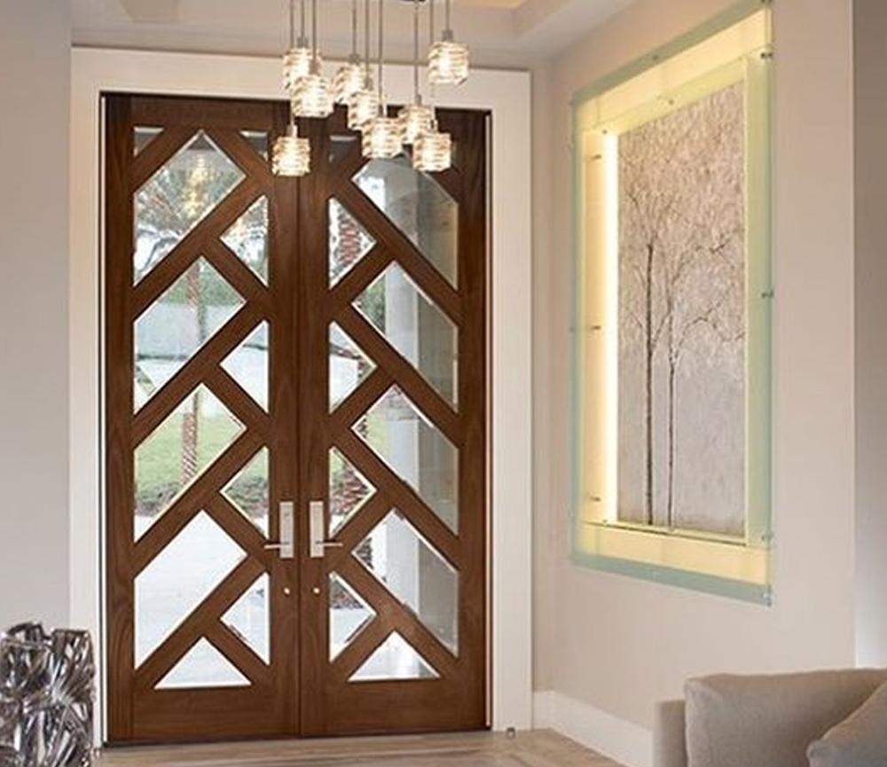 Desain Desain Dua Pintu