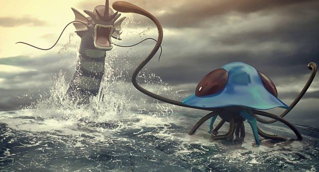 pokemon-battle-gyarados-vs-tentacruel-by-remy31460-d8ig23z-pre