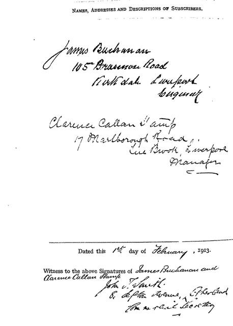 Shareholders-1913