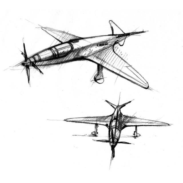 Les risque-tout chez Bugatti – entre l'avion et la voiture de course  10-bugatti-plane-t100