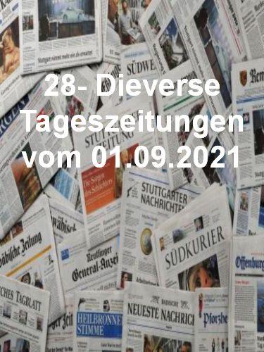 Cover: 28- Diverse Tageszeitungen vom 01  September 2021