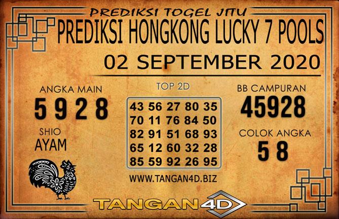 PREDIKSI TOGEL HONGKONG LUCKY 7 TANGAN4D 02 SEPTEMBER 2020