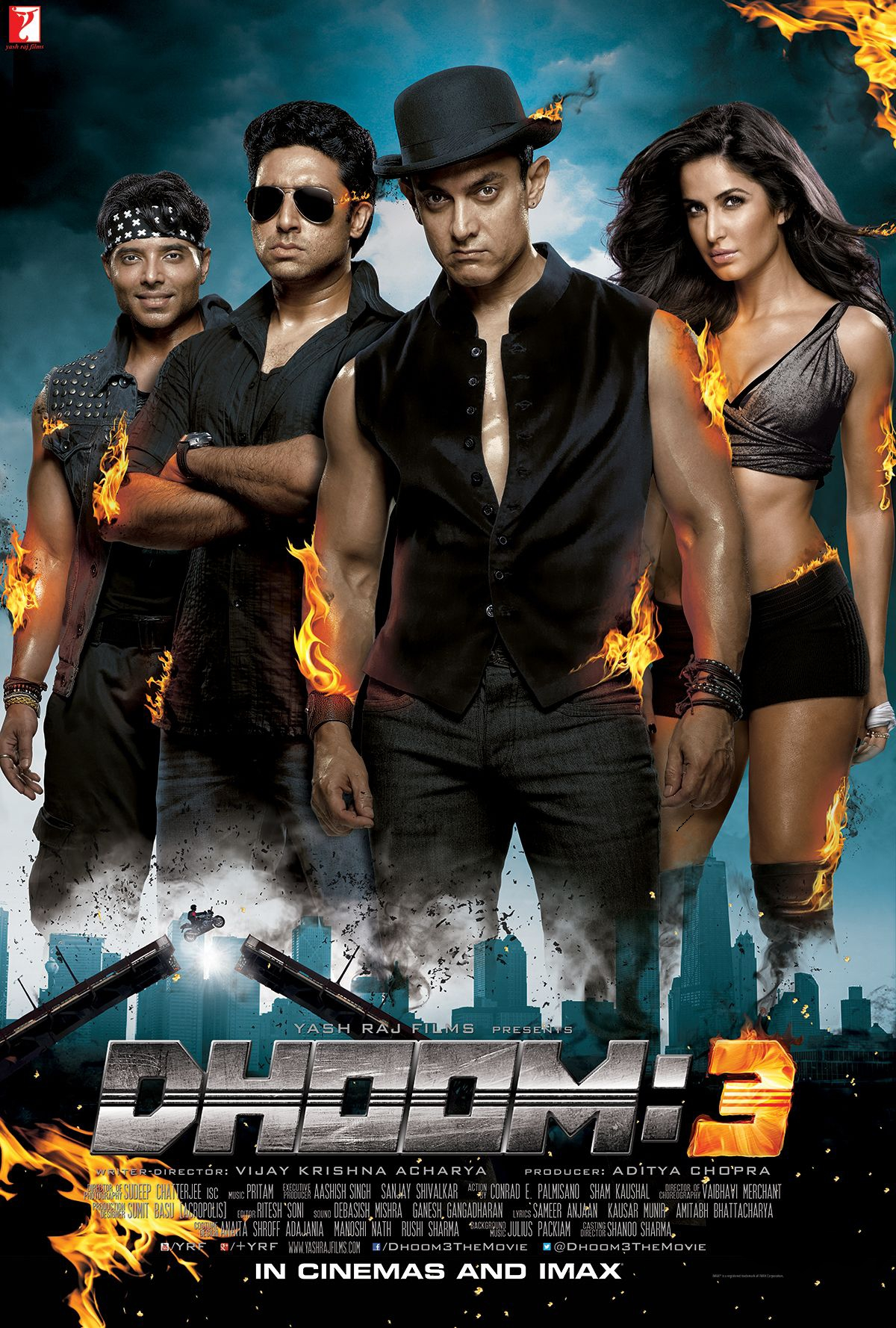 Dhoom 3 (2013) Hindi 480p Bluray x264 AAC 450MB ESub
