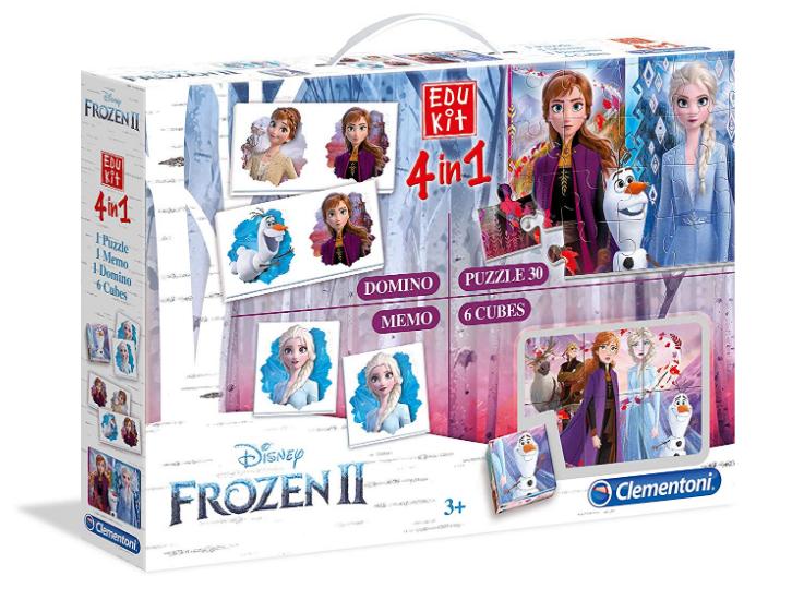 Juego Educativo Memorando, Frozen 2, Lego
