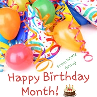 happy birthday month