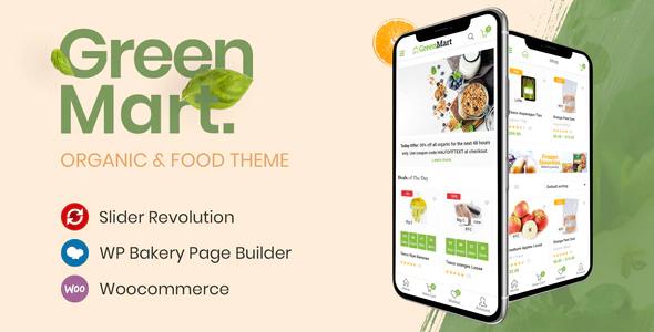 ThemeForest - GreenMart v2.3.7 - Organic & Food WooCommerce WordPress Theme - 20754270