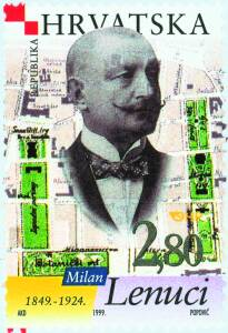 1999. year ZNAMENITI-HRVATI-MILAN-LENUCI