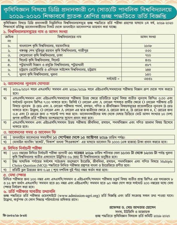 agri-university-admission-2019-20