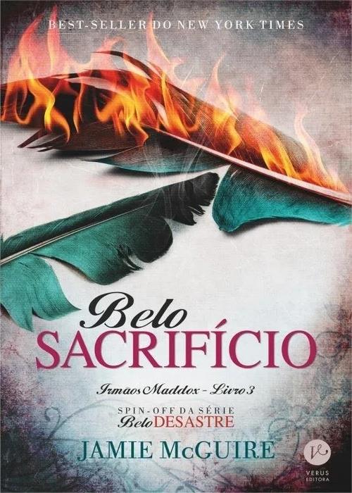 Resenha #328 Belo Sacrifício – Jamie McGuire @Verus_Editora