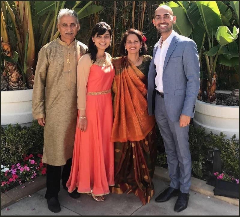 Neil Patel Family