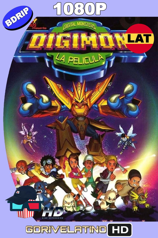 Digimon: La Película (2000) BDRip 1080p Latino-Inglés MKV