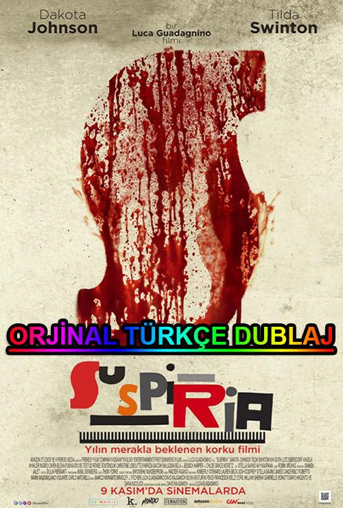 Suspiria | 2018 | BDRip | XviD | Türkçe Dublaj | m720p - m1080p | BluRay | Dual | TR-EN | Tek Link