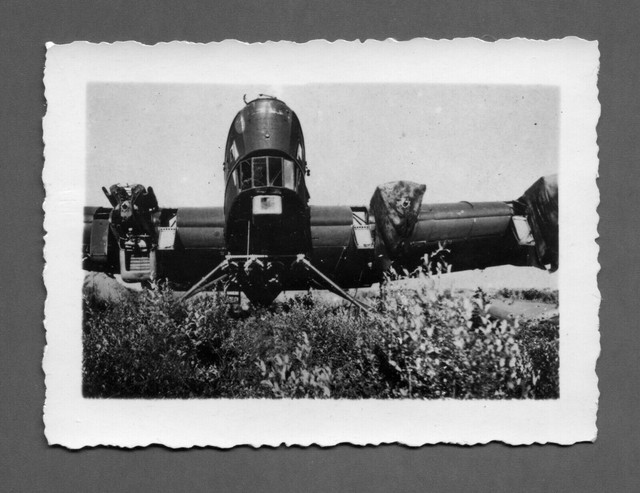 Orig-Top-Foto-4-motoriger-russisches-Beute-Bomber-Flugzeug