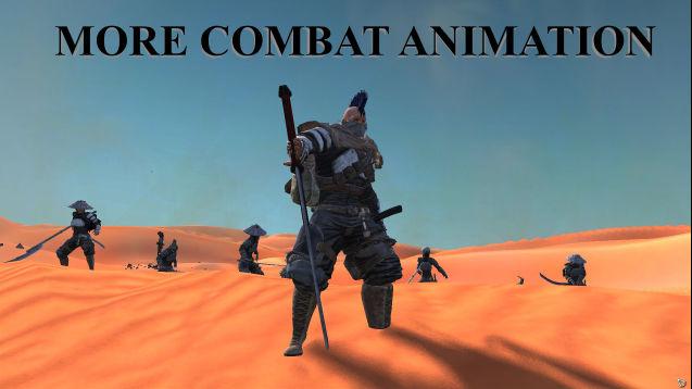 More Combat Animation / Больше боевых анимаций (MULTI)