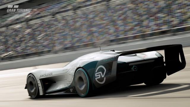 Jaguar Lève Le Voile Sur La Vision Gran Turismo SV : La Voiture De Course 100% Électrique Ultime Pour Les Passionnés De Course Automobile Jag-GTSV-Exterior-08-161220