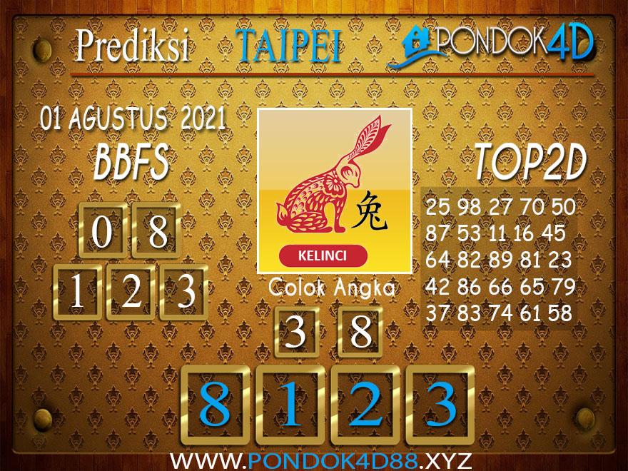 Prediksi Togel TAIPEI PONDOK4D 01 AGUSTUS 202