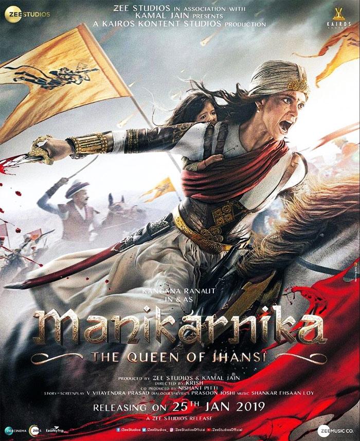 Manikarnika – The Queen of Jhansi (2019) Hindi Full Movie 720p HDRip