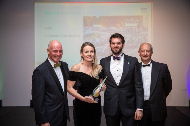 Buckmore Park wins 'Tourism Experience of the Year' Award