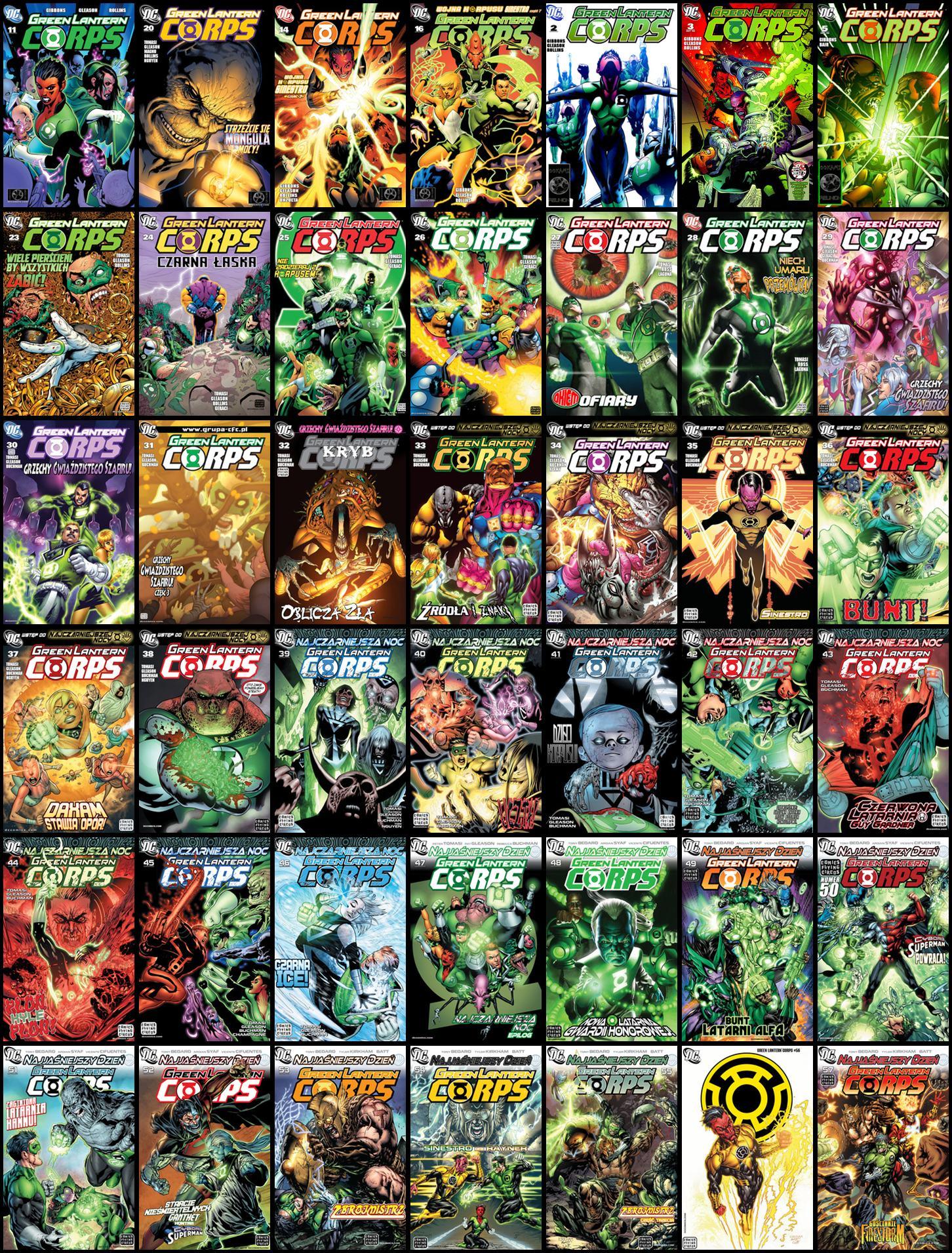 Green Lantern Corps #1-57
