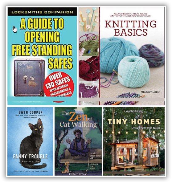 5 Hobbies & Leisure time e-Books