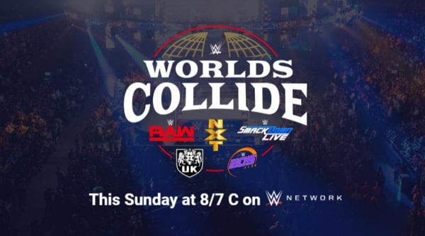 Watch WWE When Worlds Collide 2019 4/17/19