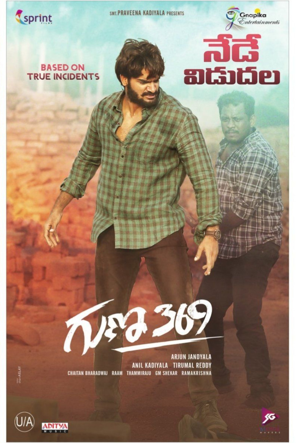Guna 369 2019 Telugu 720p HDRip ESubs 1.4GB | 400MB Watch Online