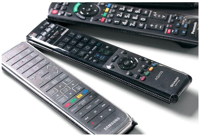 разные виды пультов для телевизора