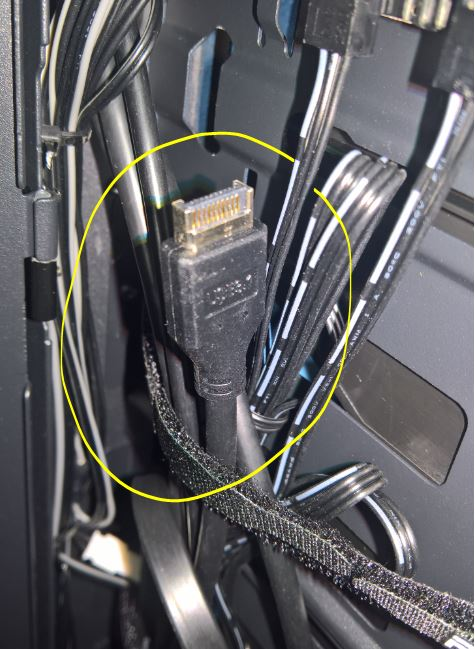 How to plug the Phanteks Evolv X USB 3 1 front pannel connector to