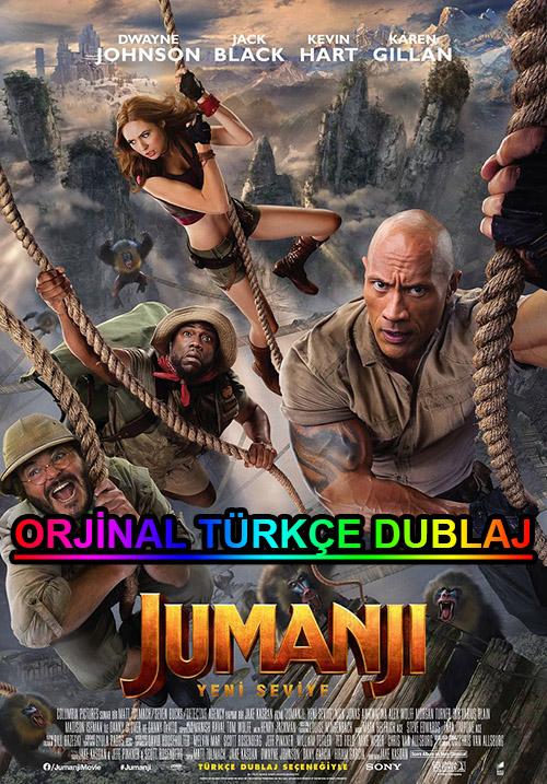 Jumanji: Yeni Seviye | 2019 | BDRip | XviD | Türkçe Dublaj | 4K - m720p - m1080p | BluRay | Dual | TR-EN | Tek Link