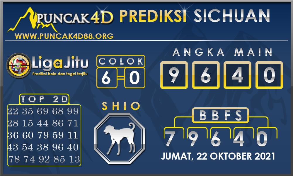 PREDIKSI TOGEL SICHUAN PUNCAK4D 22 OKTOBER 2021