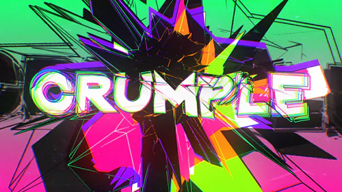 Crumple Crash Title Opener 30310967 - Project for After Effects (Videohive)