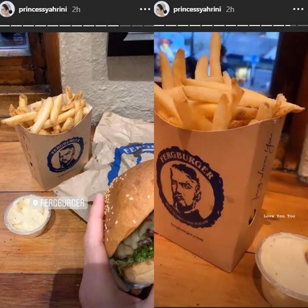Unggahan Syahrini di Instagram pribadinya.