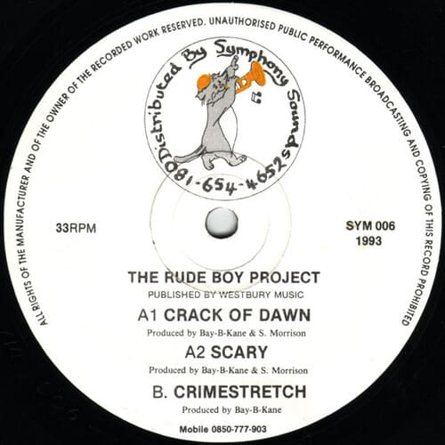 Download The Rude Boy Project - Crack Of Dawn / Scary / Crimestretch mp3