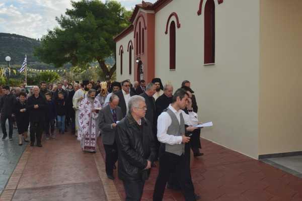 Εγκαίνια ναού Αποστόλων Πέτρου & Παύλου στα Διαμαντεΐκα Αγρινίου