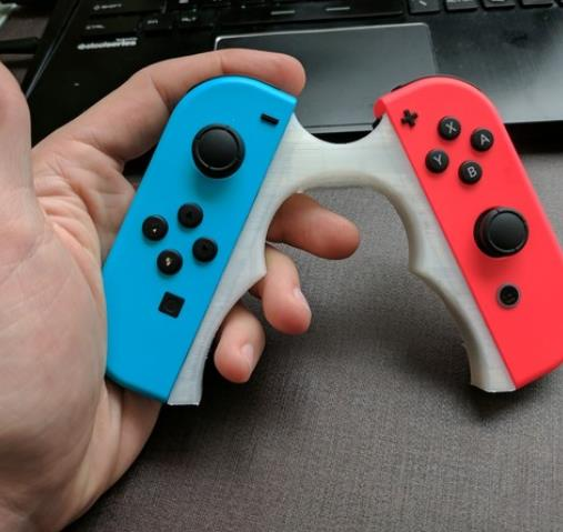 Switcherang: Nintendo Switch Joy-Con Grip - Cool Things to 3D Print