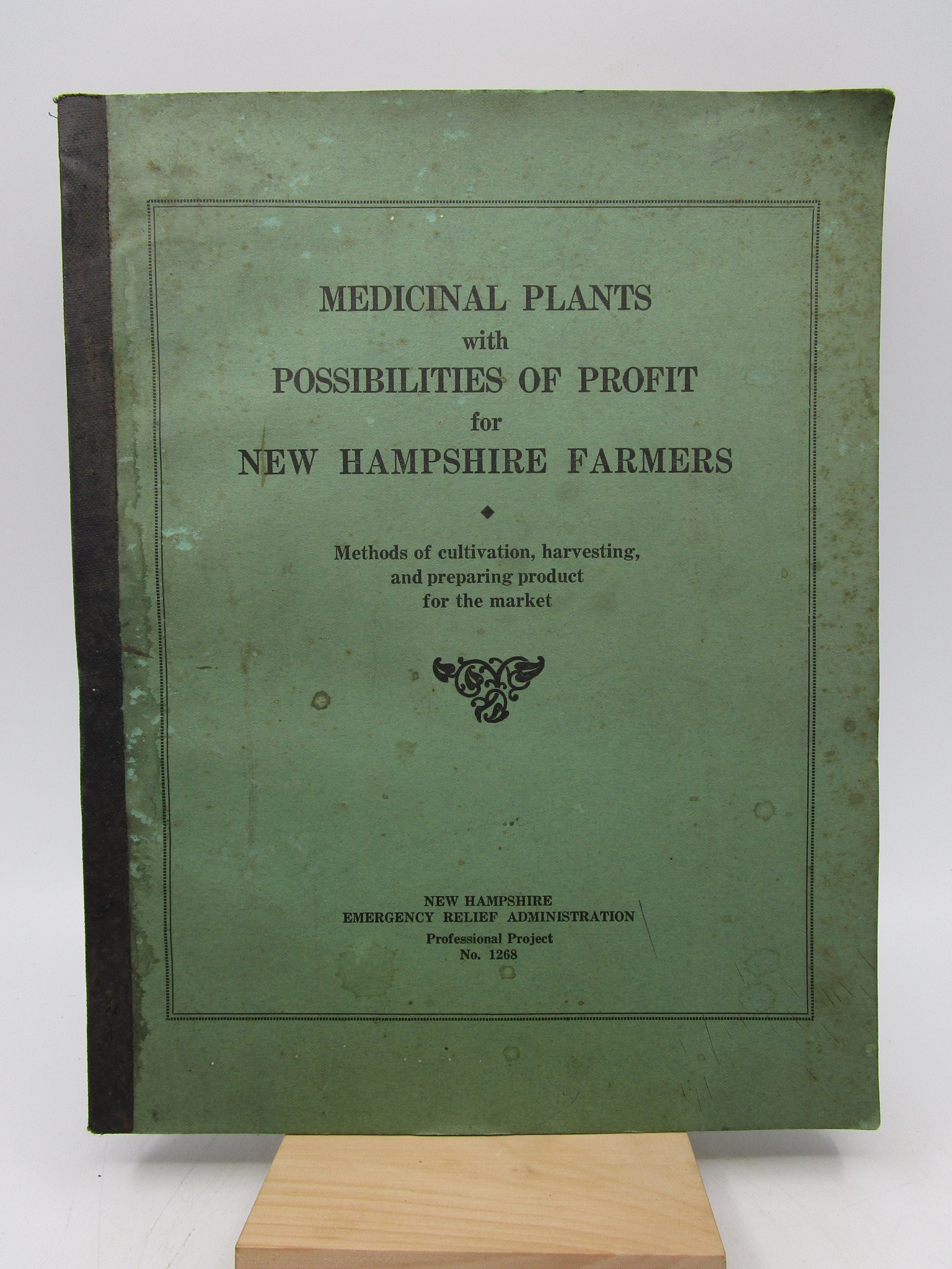 Image for Medicinal Plants with Possibilities of Profits for New Hampshire Farmers