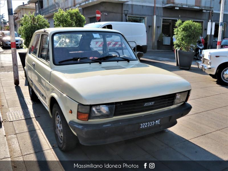 Raduno Auto d'epoca - Trecastagni (CT) - 21 Luglio 2019 Fiat-147-D-1-3-45cv-82-ME322333-2