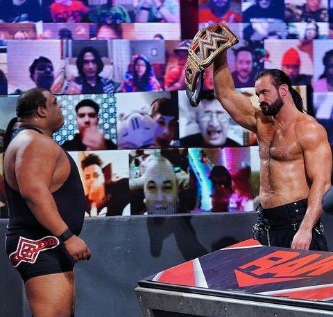 Keith Lee retador al Campeonato de WWE de Drew McIntyre