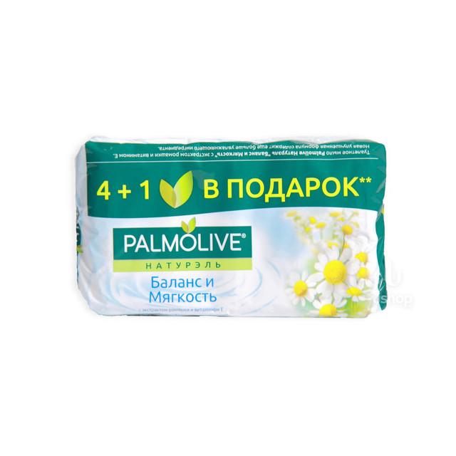 პალმოლივი საპონი მყარი, 4+1 350 გრ მულტიპაკი თაფლი და რძე