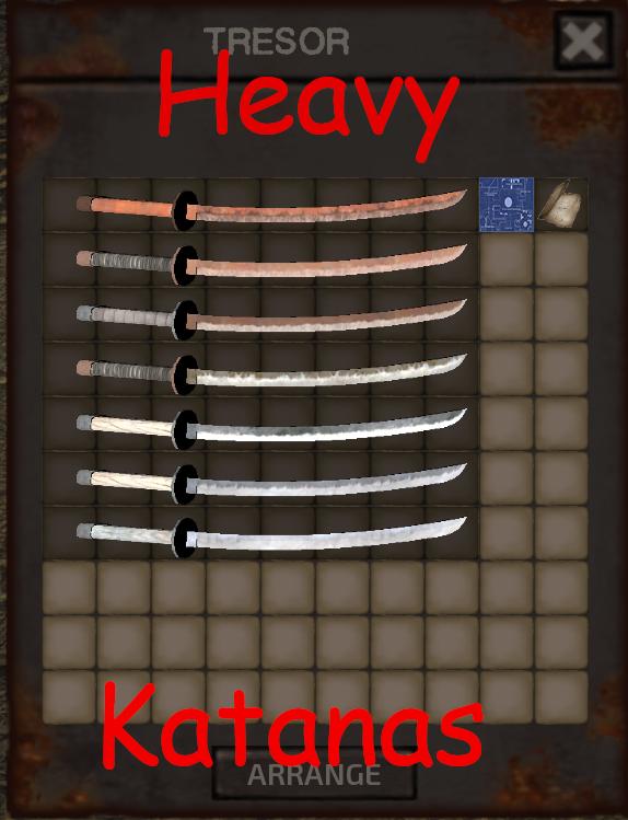 Heavy Katanas / Тяжелые катаны