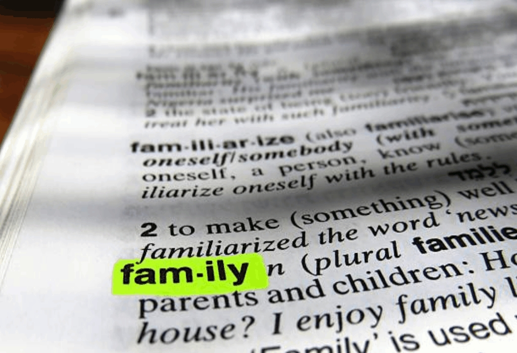 Family Dictionary Quotes