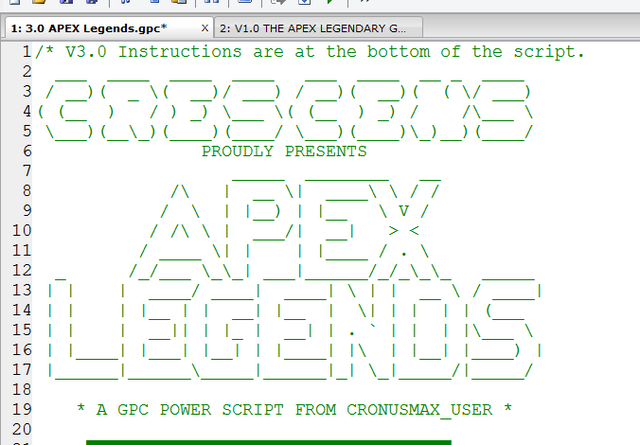 THE APEX LEGENDS & CALL OF DUTY GPC Power Scripts from Crescens