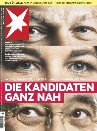Cover: Der Stern Nachrichtenmagazin No 38 vom 16  September 2021