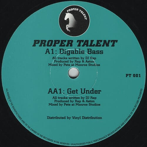 Download DJ Rap - Digable Bass / Get Under mp3
