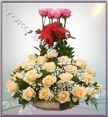 Toko bunga Sabana Jakarta jual bunga mawar murah