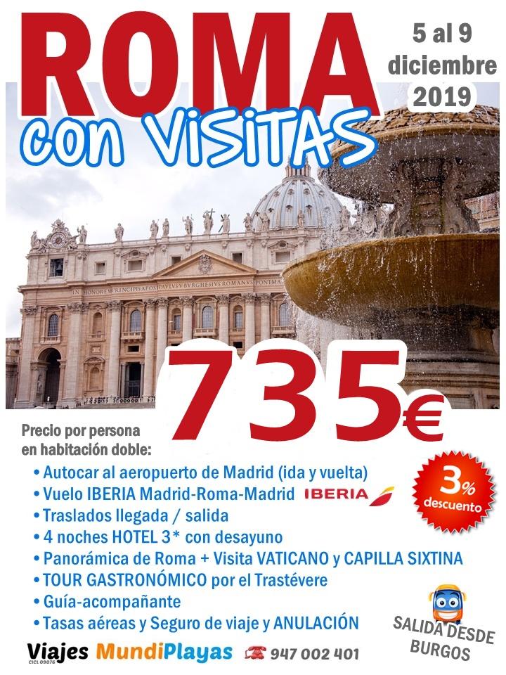 ROMA con visitas