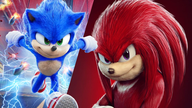 Sonic The Hedgehog Paramount Pictures Are Reportedly Interested In A Standalone Knuckles Movie