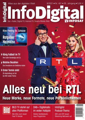 Cover: Info Digital Infosat Magazin No 08 2021
